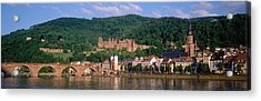 Germany, Heidelberg, Neckar River Acrylic Print by Panoramic Images