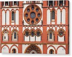 Germany, Hesse, Limburg An Der Lahn, St Acrylic Print by Walter Bibikow