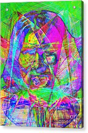 Geronimo 20130611 Acrylic Print by Wingsdomain Art and Photography