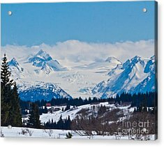 Gerwink Glacier Homer Ak Acrylic Print