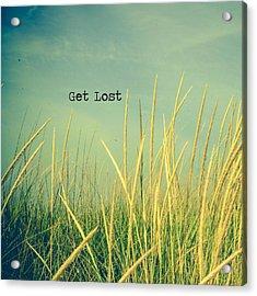 Get Lost Acrylic Print