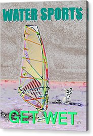 Get Wet Water Sports Acrylic Print