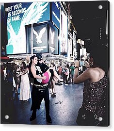 Get Your 15 Seconds Of fame Acrylic Print