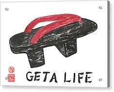 Geta Life Acrylic Print by Terri Harris