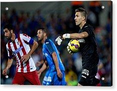 Getafe Cf V Club Atletico De Madrid - La Liga Acrylic Print by Gonzalo Arroyo Moreno