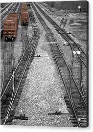 Getting On The Right Track Acrylic Print
