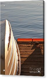 Getting Ready For Winter. Acrylic Print by Tracey Levine