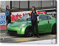 Getting Ready To Race Acrylic Print