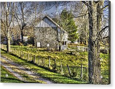 Acrylic Print featuring the photograph Gettysburg At Rest - Sarah Patterson Farm Field Hospital by Michael Mazaika
