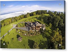 Acrylic Print featuring the photograph Gh - Aerial 1 by Carl Amoth