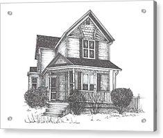 Gh Home Acrylic Print by Barbara Carlson