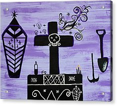Ghede Acrylic Print by Dayila Divine