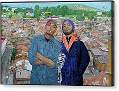 Ghetto Voice Acrylic Print by Daniel Kisekka