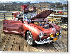 Ghia On Vacation Acrylic Print