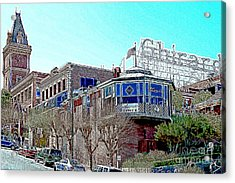 Ghirardelli Chocolate Factory San Francisco California 7d14093 Artwork Acrylic Print by Wingsdomain Art and Photography