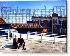 Acrylic Print featuring the photograph Ghirardelli Square by Andreas Thust