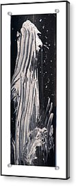 Ghost Abstract Acrylic Print by Geraldine Alexander