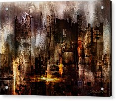 Ghost City II Acrylic Print