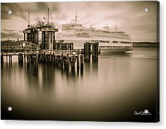 Ghost Ferry Acrylic Print by Charlie Duncan