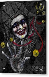 Ghost Harlequin Acrylic Print by Carol Jacobs