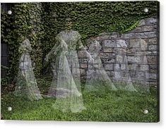 Ghost In The Garden Acrylic Print