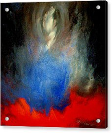 Acrylic Print featuring the painting Ghost by Lisa Kaiser