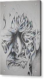 Ghost Acrylic Print by Moshfegh Rakhsha