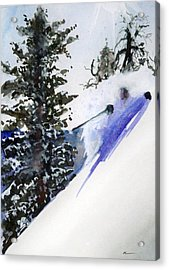 Ghost Of Tahoe Past Acrylic Print by Ed  Heaton