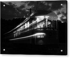 Acrylic Print featuring the photograph Ghost Of Trolleys Past II by Jim Poulos