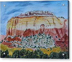 Ghost Ranch Acrylic Print