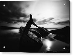 Acrylic Print featuring the photograph Ghost Ship by Frodi Brinks