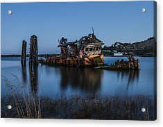 Ghost Ship Acrylic Print by Randy Wood