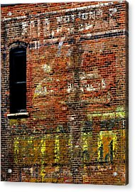 Ghost Sign 13469 3 Acrylic Print by Jerry Sodorff