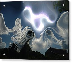 Ghost Sky Acrylic Print by Beto Machado