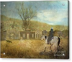 Ghost Town #1 Acrylic Print by Betty LaRue