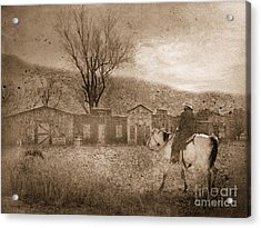 Ghost Town #2 Acrylic Print by Betty LaRue