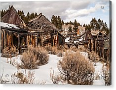 Ghost Town Acrylic Print