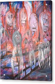 Ghost Walk Acrylic Print by Randall Ciotti