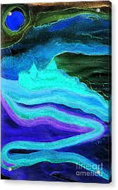 Ghostly Castle By Jrr Acrylic Print by First Star Art