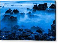 Ghostly Ocean 1 Acrylic Print by Leigh Anne Meeks