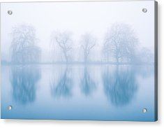 Ghostly Reflections Acrylic Print