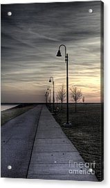 Ghostly Walkway Acrylic Print