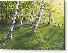 Ghosts In The Woods Acrylic Print