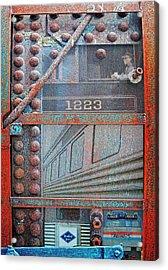 Ghosts Of The Railroad Acrylic Print by Joseph J Stevens