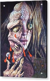 Ghoulshead Acrylic Print by Douglas Fromm