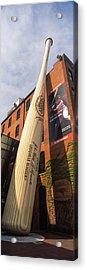 Giant Baseball Bat Adorns Acrylic Print by Panoramic Images
