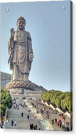 Giant Buddha Acrylic Print