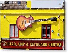 Giant Gibson Les Paul Acrylic Print