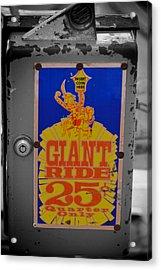 Giant Ride 25 Acrylic Print