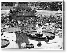 Giant Water Lilies Acrylic Print
